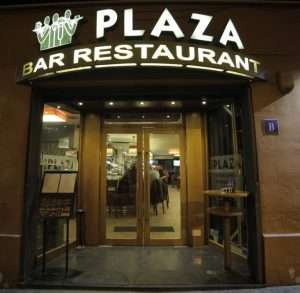 """Bar Restaurante PLAZA. El """"padrino"""" del premio de 150€ """"PUBLICO"""""""