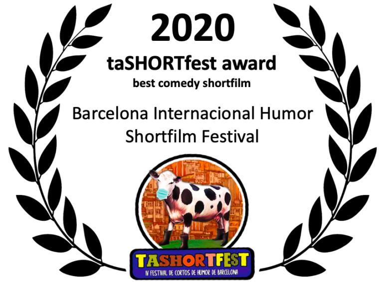 taSHORTfest 2020 award